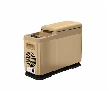 Автохолодильник компрессорный Alpicool CF8 BROWN - фото 4551