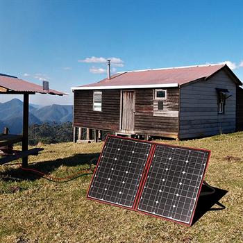 Солнечная панель Dokio 110Вт (портативная) - фото 4625