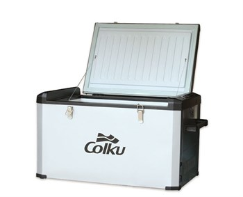 Автохолодильник компрессорный Colku DC 80F - фото 4920